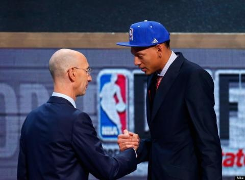 News video: The NBA Drafts Isaiah Austin